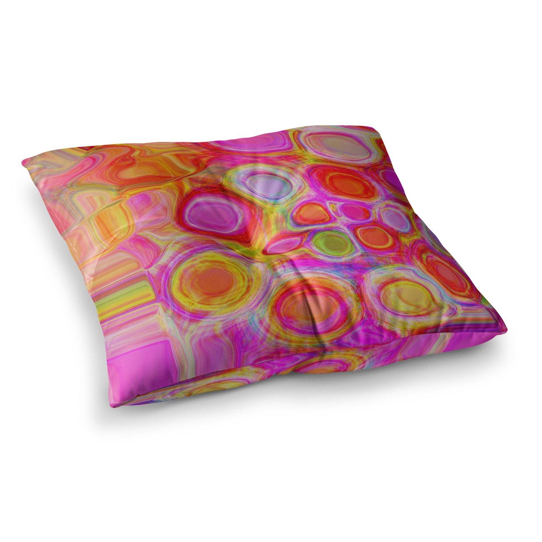 Kess InHouse Nina May Spring 23 x 23 Square Floor Pillow