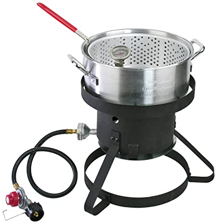 Cajun Injector Gas Fish Fryer