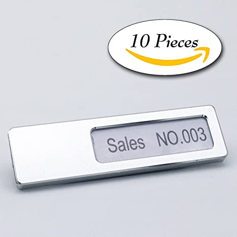 amazon com 10 pieces usup business name tag customized text on