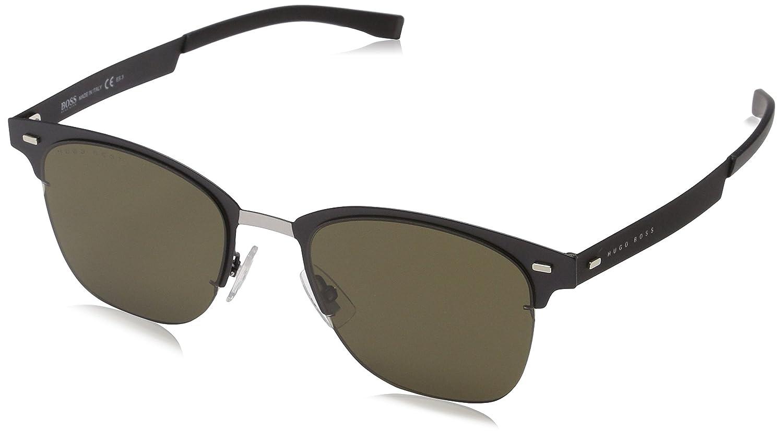 BOSS by Hugo Boss Mens Boss 0934//n//s Rectangular Sunglasses MTT BLACK 53 mm