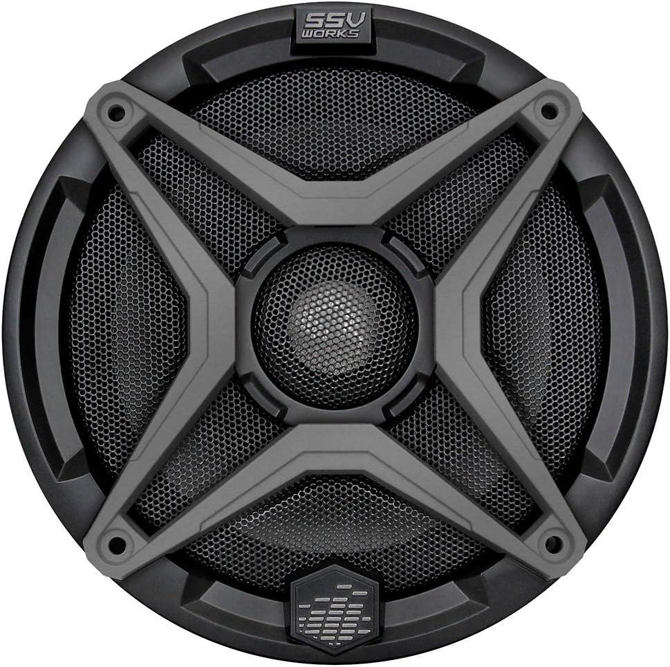1pcs 2-Zoll-Full-Range-Lautsprecher 4 Ohm 20W Portable Audio Lautsprecher H/öhen Midrange Bass-Lautsprecher Heimkino-Lautsprecher Gr/ö/ße : 2 WNJ-TOOL