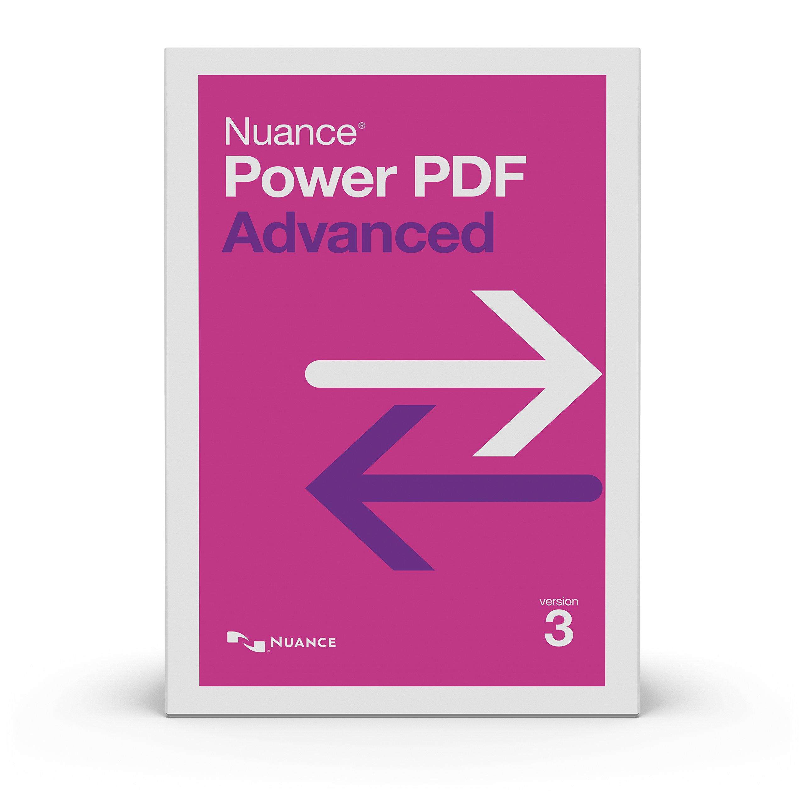 Kofax Power PDF Advanced 3.0 [PC Download] by Kofax Power PDF