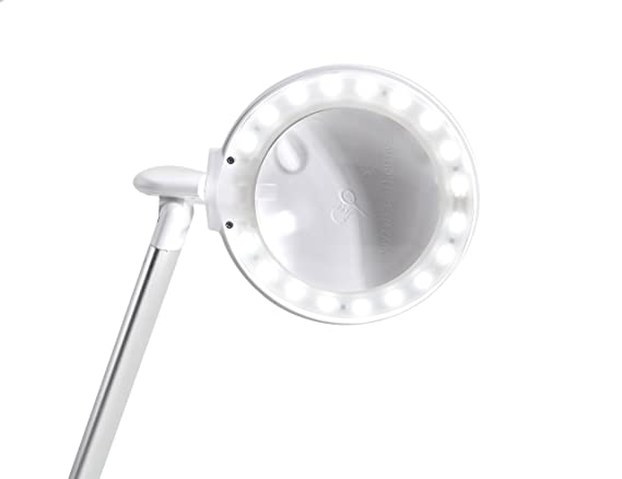 Lampe Loupe Halo Daylight Dioptrie 5 Et 12 Amazon Fr Luminaires Et