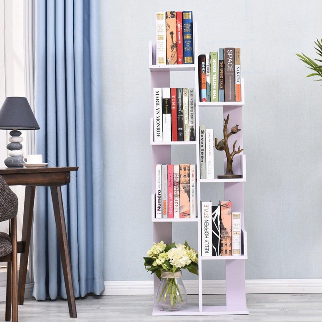 Shelf Shelf Shelf Study Children 's Student Bookcase Shelves Storage Tower 4820145cm ( Color : White )