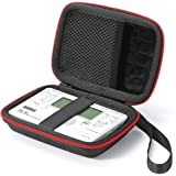 Hard travel case for Korg TM-50 / TM-60BK Tuner Metronome and Clip on Microphone, Protective Carrying Storage Bag…