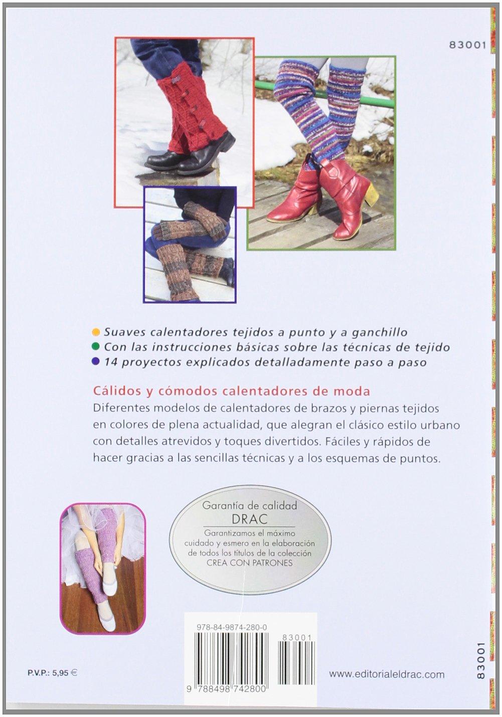 Calentadores de punto y ganchillo para piernas y brazos: Birgit Rath ...