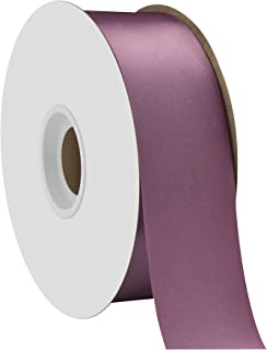 "product image for Offray Berwick 1.5"" Single Face Satin Ribbon, Amethyst Purple, 50 Yds"