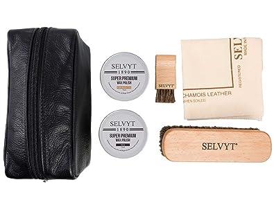 Kit Cheval de Premium Luxe avec Selvyt Chaussure 1890 Soin 1cFKlTJ3