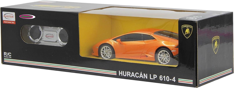 2 orange Lamborghini Huracan 1:24 Jamara 404594