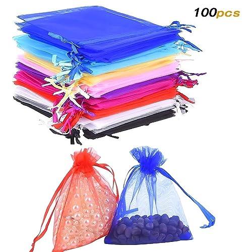 100 pieza multicolor Traumhandel Bolsa Bolsa Regalo SCHUCK bolsas ...
