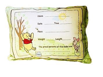 Amazon.com: Almohada de recuerdo de Winnie the Pooh: Baby