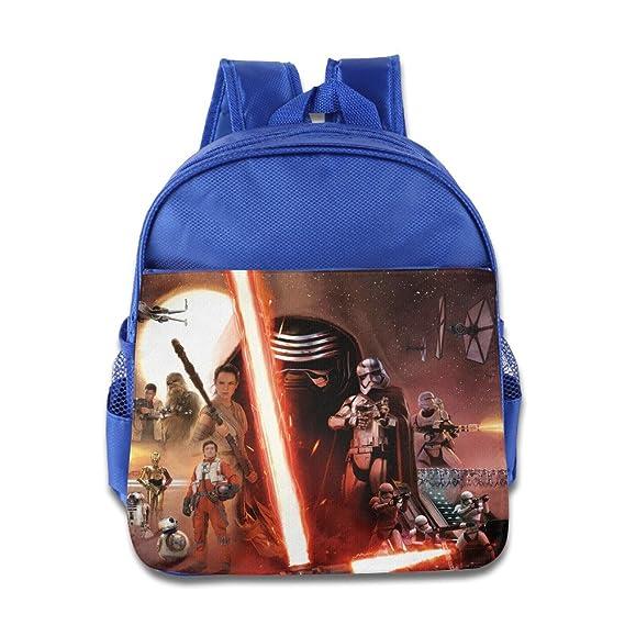 Star Wars - Mochila, mochila escolar para 1 - 6 años niños: Amazon.es: Hogar