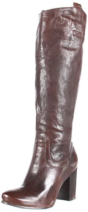 Amazon.com | FRYE Women\'s Carson Heel Tab Knee-High Boot | Knee-High