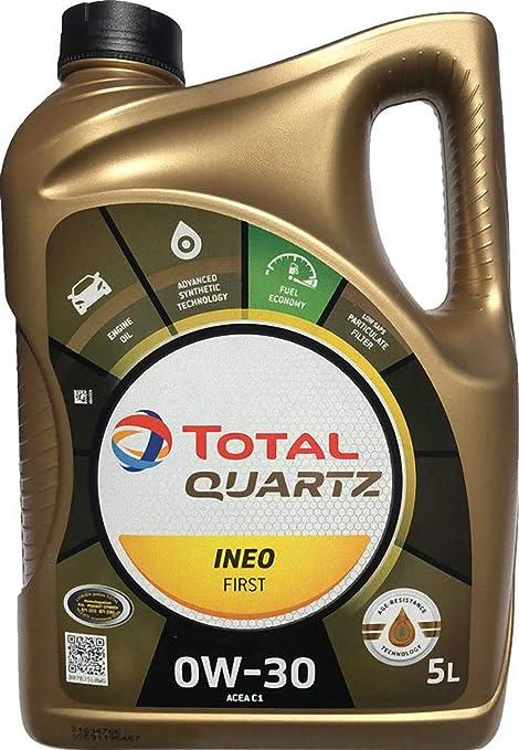 Total Quartz Ineo First 0w30 Engine Oil 5 Litres 183106 Auto