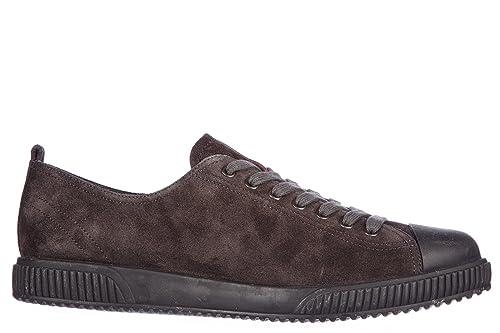 Prada Scarpe Sneakers Uomo camoscio Nuove Asfalto Grigio  Amazon.it  Scarpe  e borse 0d7f5b95589