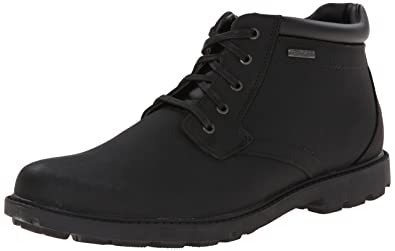 Rockport Men's Storm Surge Water Proof Plain Toe Boot Black 9.5 W (EE)-