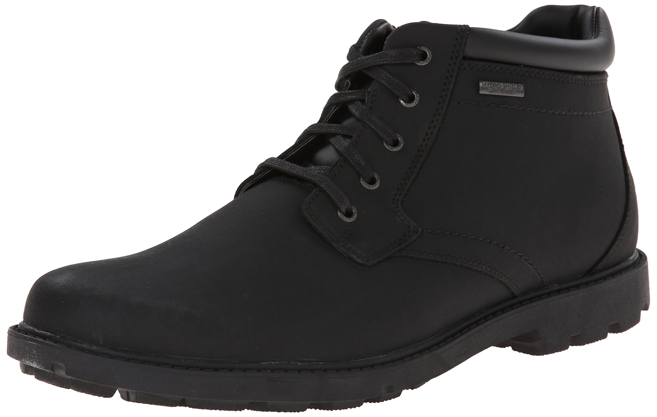 Rockport Men's Storm Surge Water Proof Plain Toe Boot Black 10 W (EE)-10 W by Rockport