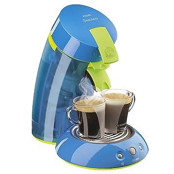 Philips Senseo HD7812/20 Máquina de café en cápsulas 0.75L 5tazas Azul - Cafetera (Máquina de café en cápsulas, Azul, De plástico, Café): Amazon.es: Hogar