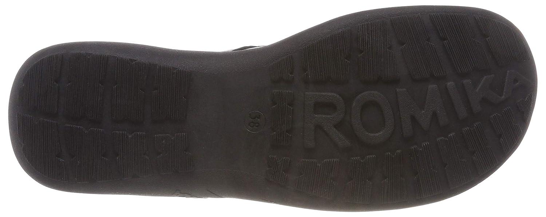 Romika Schwarz Damen Milla 116 Slipper, Schwarz Romika (Schwarz 100 100) 1569c1