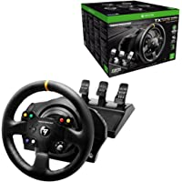 Thrustmaster TX Racing Wheel Leather Edition Premium Official Xbox One Racing Wheel (4460134) for Xbox One and PC