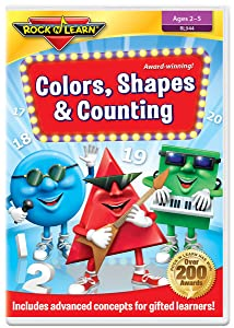 Colors, Shapes & Counting by Rock 'N Learn