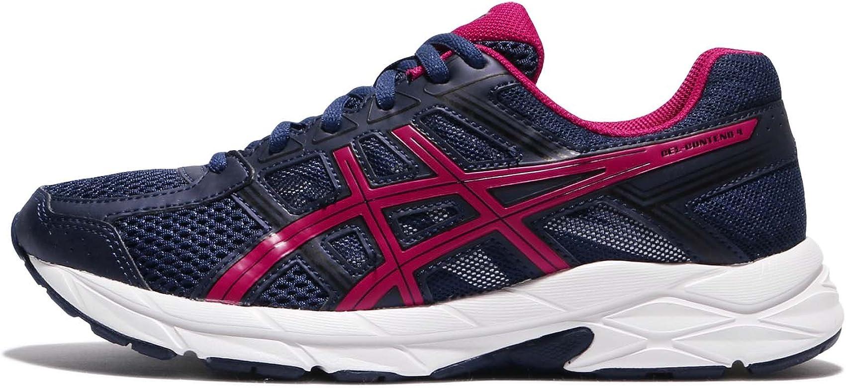 Asics Gel-Contend 4, Zapatillas de Deporte Mujer, Azul (Indigo Blue/cosmo Pink/black), 40 EU: Amazon.es: Zapatos y complementos