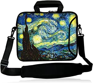"iColor 11.6-12"" 13.3-inch Laptop Shoulder-Bag - Neoprene Computer Tablet Carrying Handle Case Sleeve"