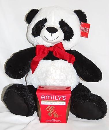 Amazon Com Valentine S Day Panda Bear Stuffed Animal Large 22