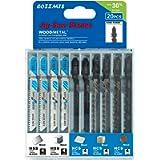 20PCS T Shank Jigsaw Blades Set for Wood Plastic Metal Replace Bosch DEWALT Black+Decker TACKLIFE Makita SKIL and…