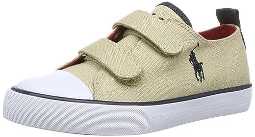 Polo Ralph Lauren Whereham Low Ez 991047 - Mocasines de lona para unisex-niño, color verde, talla 31: Amazon.es: Zapatos y complementos