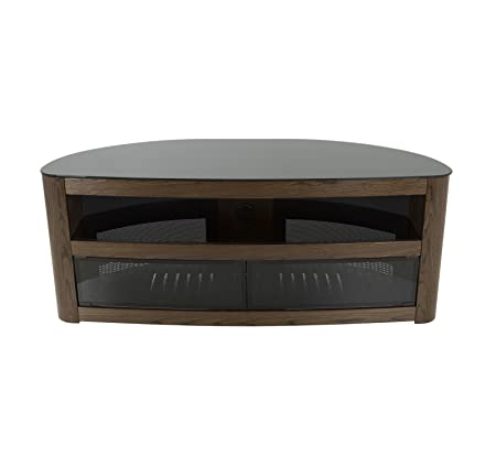 AVF FS125BURXW-A Affinity Plus Burghley TV Stand for up to 65 In. TV s Walnut