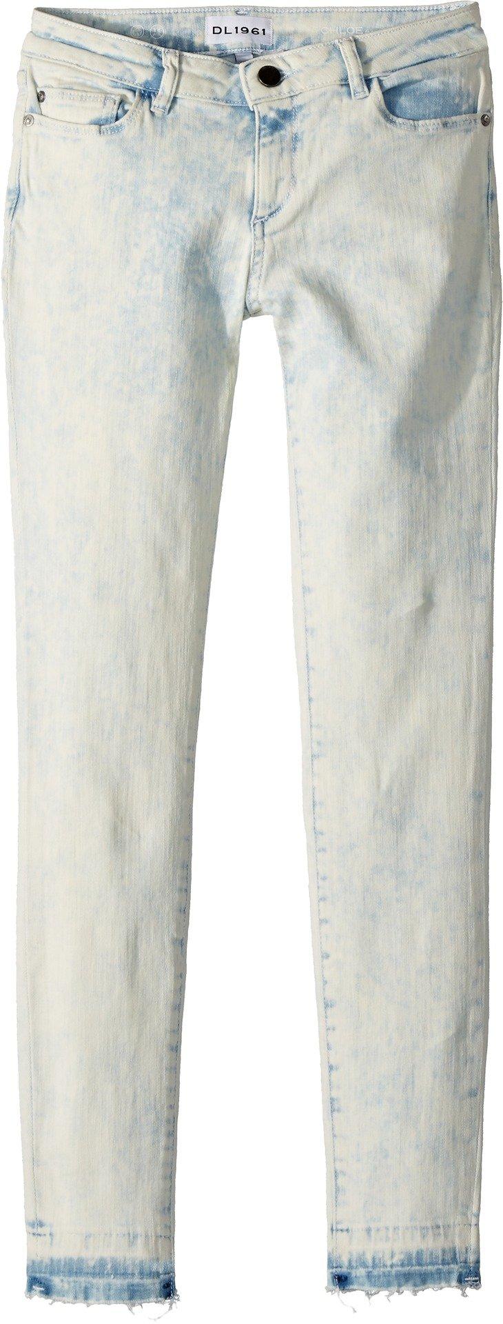 DL1961 Kids Girl's Chloe Light Wash Skinny Jeans in Surfside (Big Kids) Surfside 14