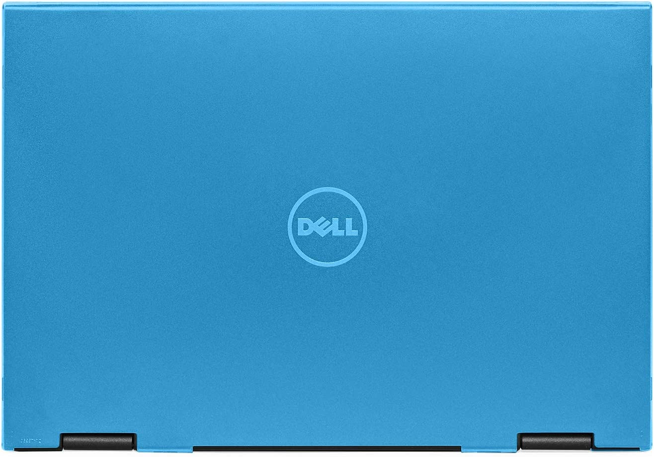 """mCover Hard Shell Case for 13.3"""" Dell Latitude 13 3390 2-in-1 Business Laptop Computers Released After Jan. 2018 (NOT Compatible with Other Dell Latitude Computers) (Aqua)"""