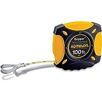 Deals on Komelon 9901 Gripper Closed Case Long Steel Tape Measure 100Ft