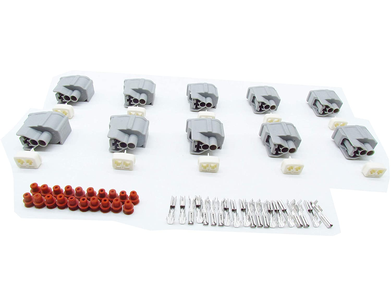 CNKF 5 Sets sumitomo 3 pin female waterproof ignition coil automotive connector 6189-0728