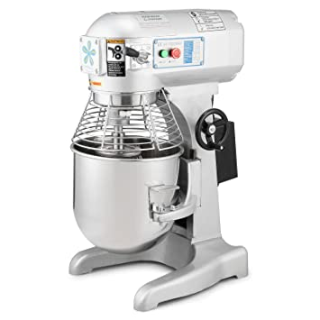 VEVOR Batidora Amasadora Procesador de Alimentos Robot de Cocina 10L Food Mixer (10 Liter): Amazon.es: Hogar