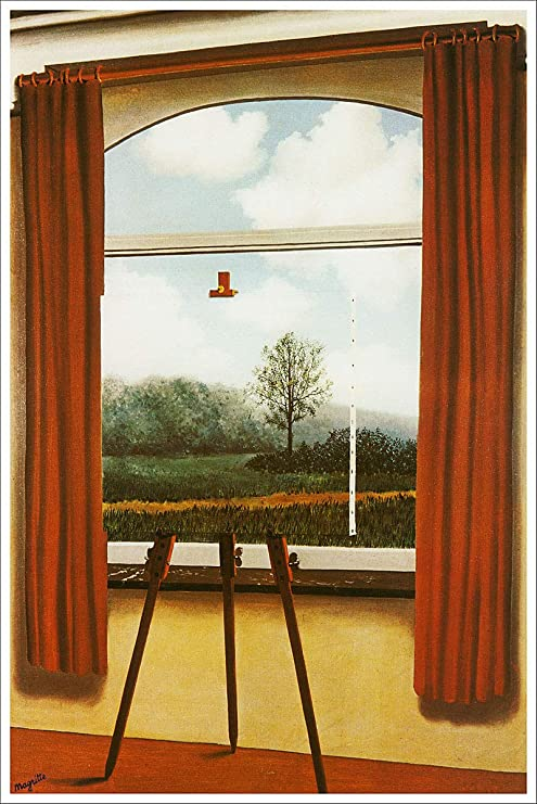 Amazon.com: American Gift Services - Artist Rene Magritte Fine Art
