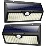 Luz Solar Exterior 138 LED, Feob Luces Solares Exterior con Sensor de Movimiento Gran Ángulo 270° 2500mAh Lámpara Solar…