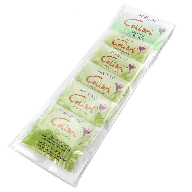 Hangerworld 5 Natürliche Mottenschutz Duftkissen aus Zedernholz Lavendel Frischerduft gegen Motten FBA_CC-LAVENDER-6