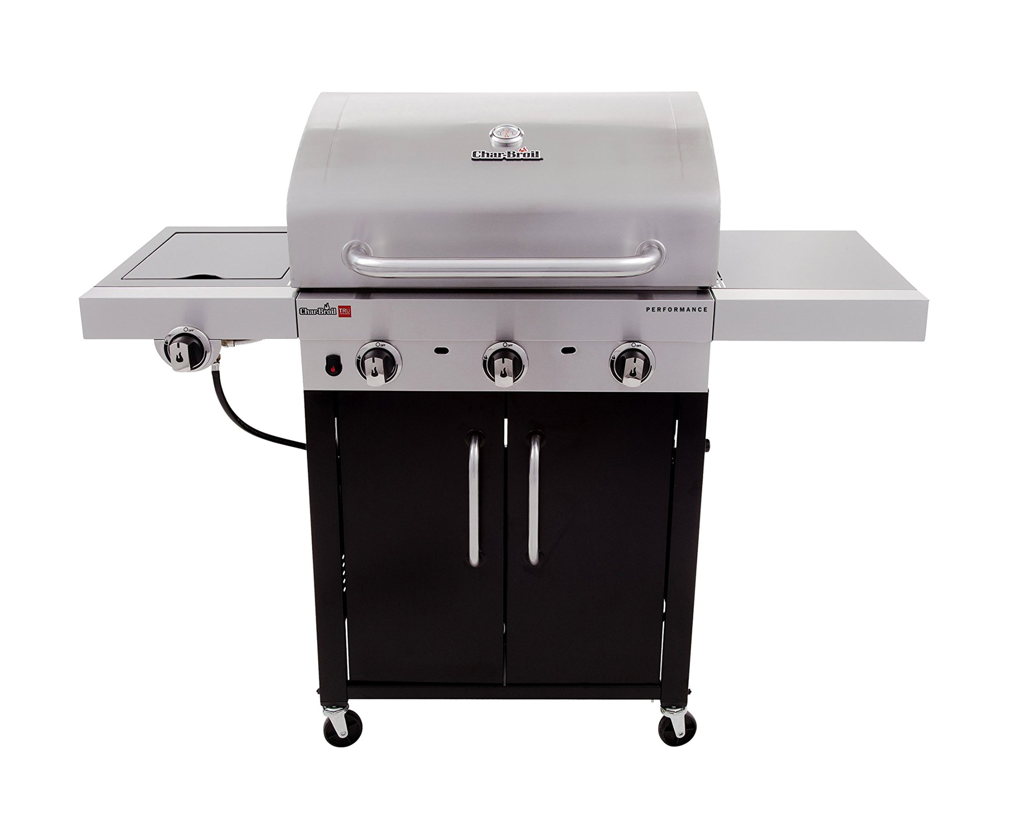 Char-Broil Performance TRU-Infrared 450 3-Burner Cabinet Liquid Propane Gas Grill by Char-Broil (Image #2)