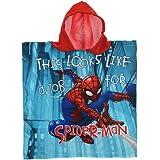Poncho Playa Spiderman