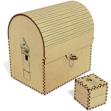 Azeeda Caja del Correo con Robin Grande Cofre del Tesoro / Joyero (TC00011849