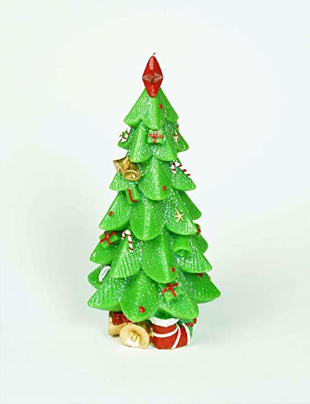 christmas gift stunning christmas tree candle with ornaments 12 no drip decorative - Amazon Christmas Ornaments