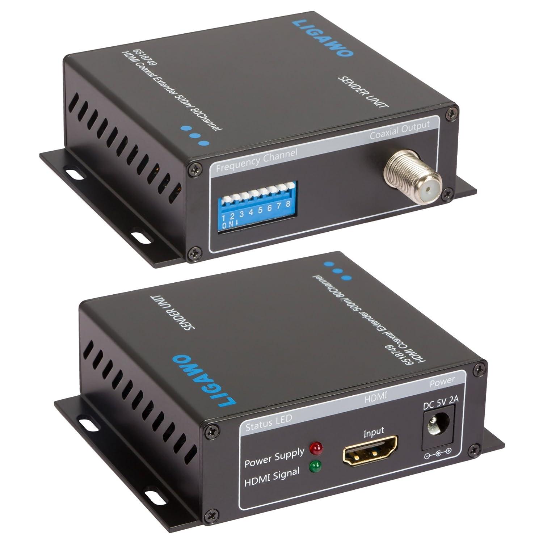 Ligawo 6518749 HDMI Extender 500 m über: Amazon.de: Elektronik