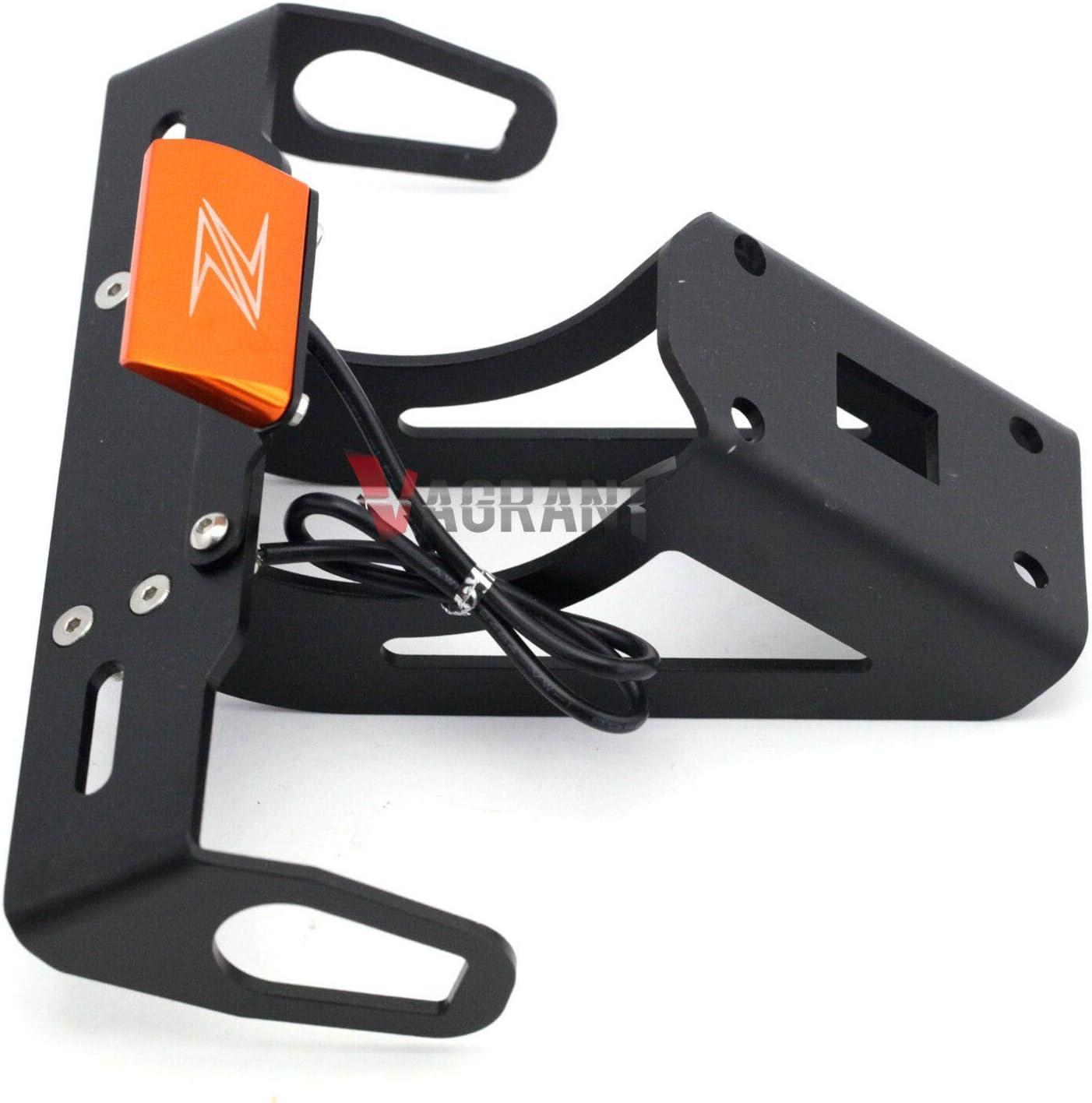 FidgetGear Kit de d/émontage de Garde-Boue arri/ère pour Kawasaki Ninja 1000,Z1000SX,Z1000 2010-2013