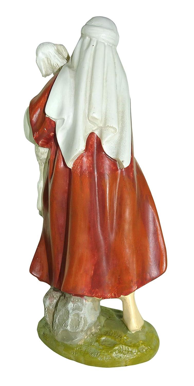 Pastor con Oveja colecci/ón Martino Landi para Pesebre de 12 cm Ferrari /& Arrighetti Figuras Bel/én