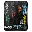 "Jay Franco Classic Star Wars Plush Throw 46"" x 60"", 46 x 60"