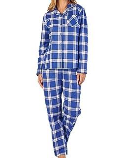 Slenderella Classic Floral Poly Cotton Pyjama