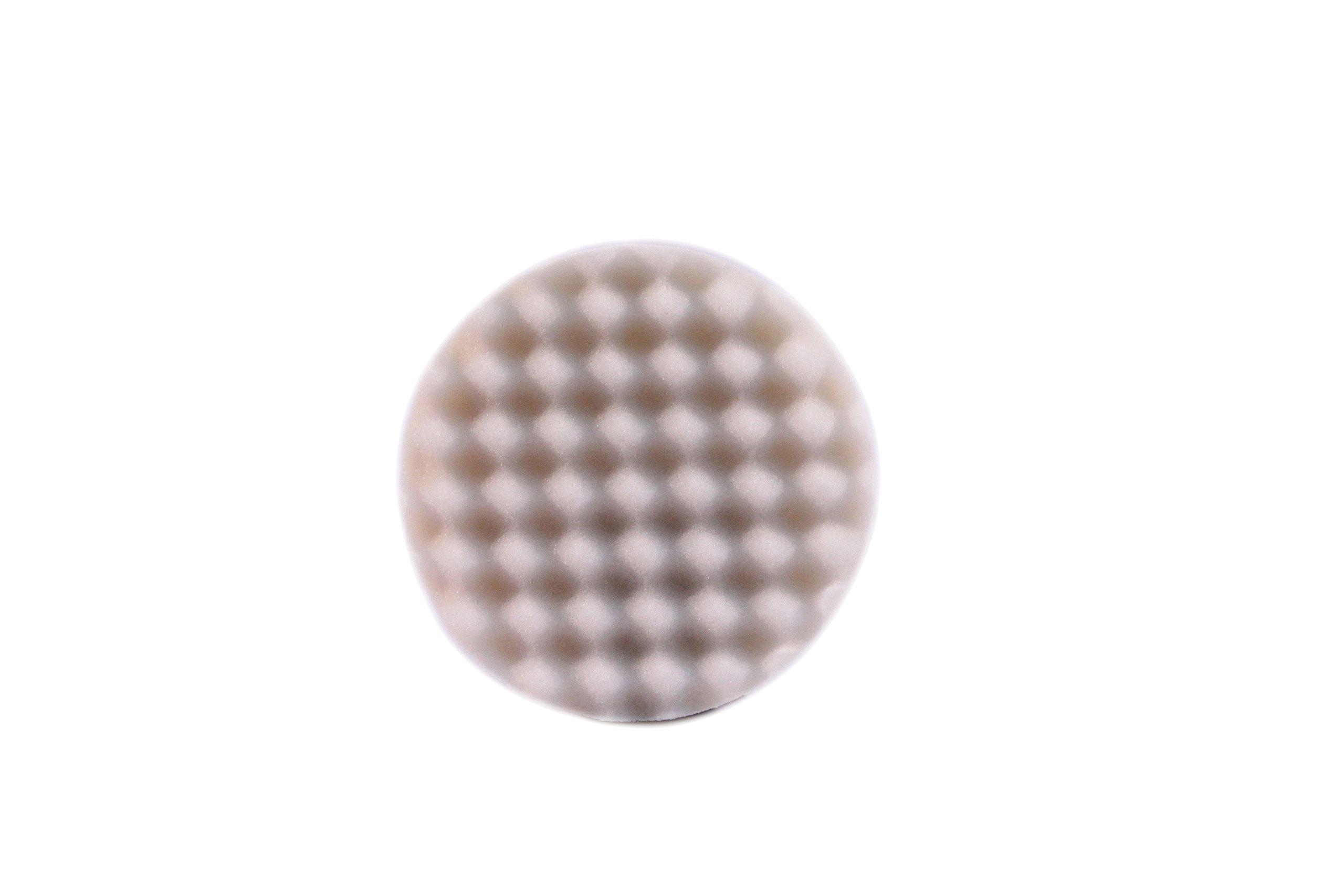 OPT Optimum (23995) Waffle Foam Pad, (Cutting & Polishing), White, 3.25''