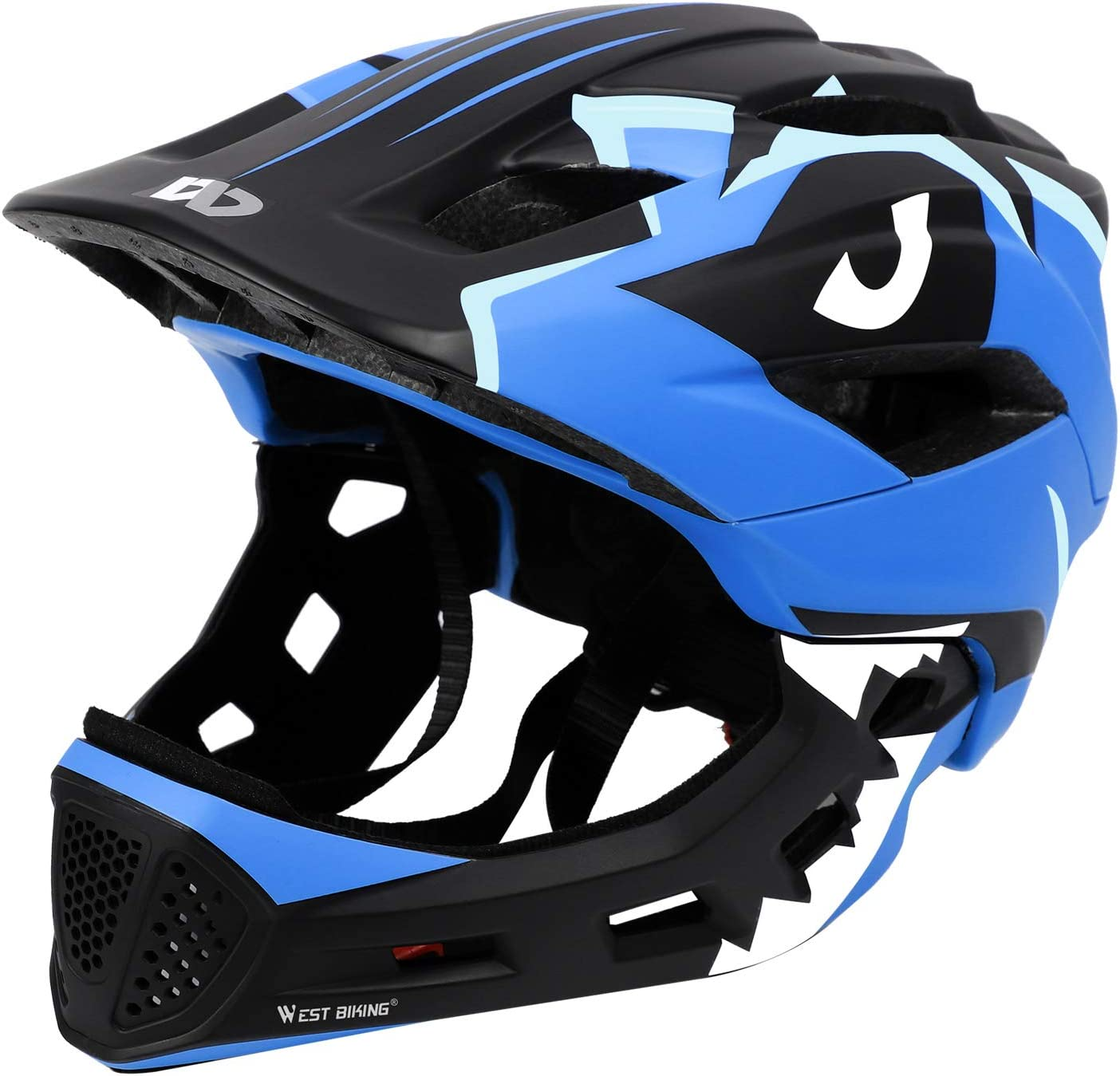 Kids Children Boy Girl Cycle Safety Helmet Bike Bicycle Skating Full Face Helmet